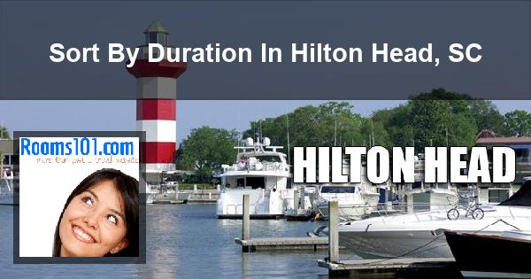 Sort By Duration In Hilton Head, SC