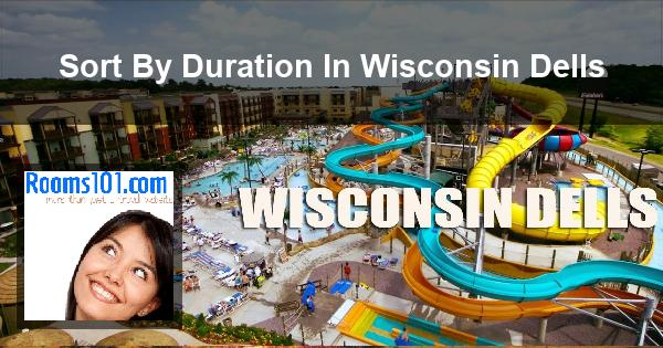 Sort By Duration In Wisconsin Dells