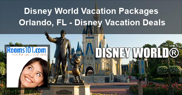 Disney Orlando Vacation Packages Hotel Resort Deals - Disney trip deals