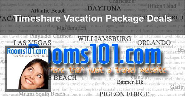 timeshare vacation package deals