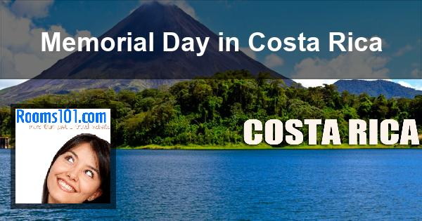Memorial Day in Costa Rica