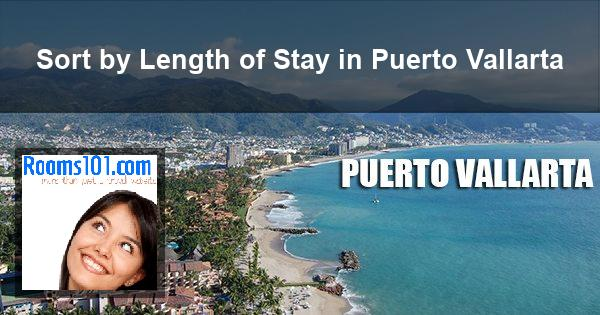 Sort by Length of Stay in Puerto Vallarta
