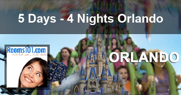 5 Days - 4 Nights Orlando