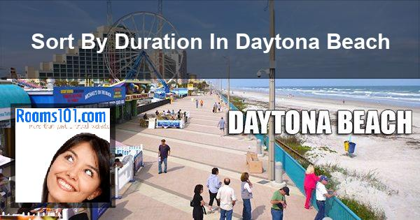 Sort By Duration In Daytona Beach