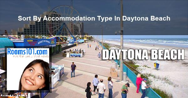 Sort By Accommodation Type In Daytona Beach