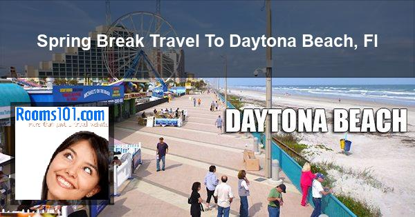 Spring Break Travel To Daytona Beach, Fl