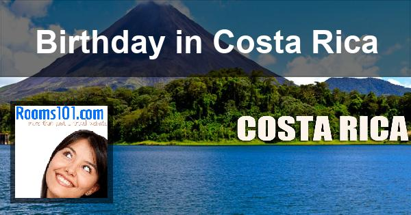 Birthday in Costa Rica
