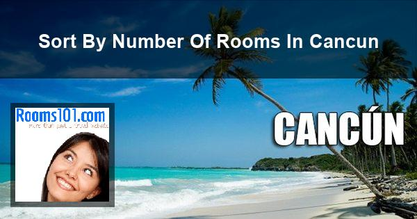 Sort By Number Of Rooms In Cancun