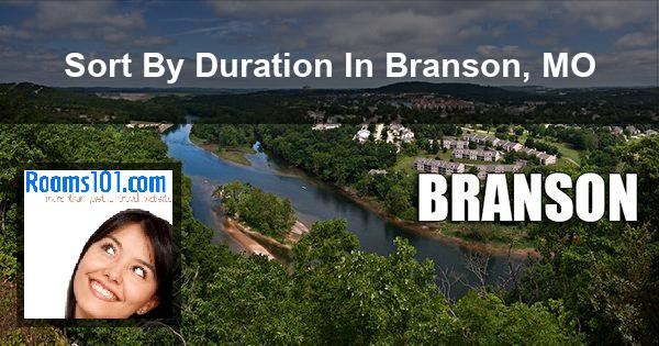 Sort By Duration In Branson, MO