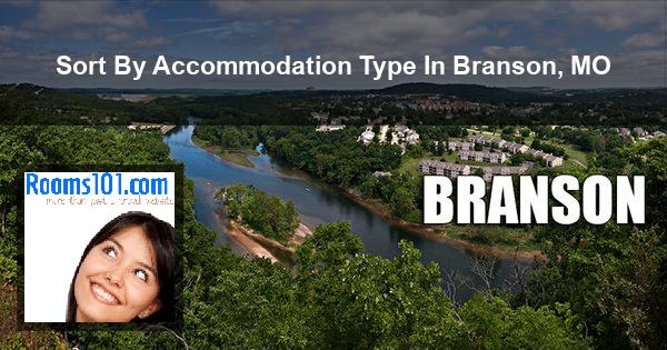 Sort By Accommodation Type In Branson, MO