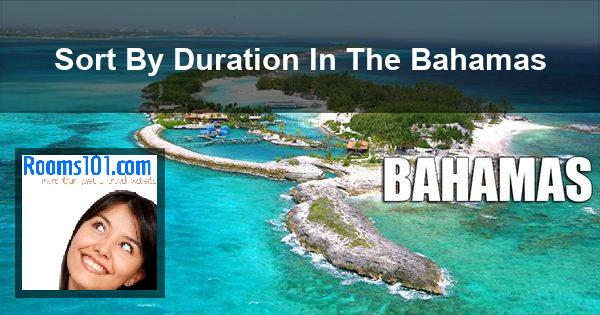 Sort By Duration In The Bahamas