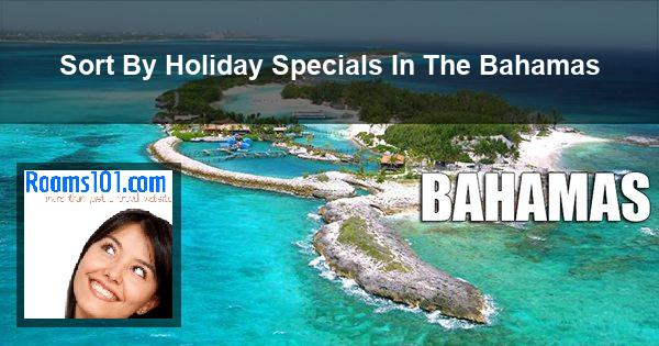 Sort By Holiday Specials In The Bahamas
