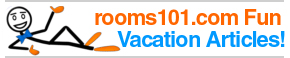 Rooms101.com presents a series of fun articles on vacation and getaway themes such as