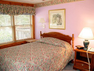 touch of pink in cabin 46 cherith brook in pigeon forge tennessee