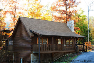 Sunset cottages pigeon forge tennessee sunset cottage for American eagle cabin pigeon forge tn