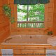 Enjoy your own private  jacuzzi in cabin 80 (Heavenly Haven), in Pigeon Forge, Tennessee.