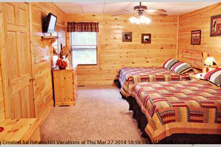 pigeon forge 7 day 6 night vacation getaway 4 bedroom luxury cabin
