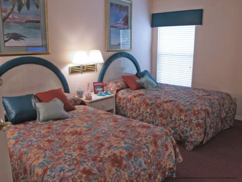 Double bed room at The Star Island Resort in Orlando Florida for a summer  family vacation. 69 Per Night Star Island Resort Orlando 3 Bedroom Suite