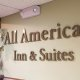 All American Inn and Suites sign