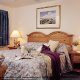 Beautifully Styled Bedrooms for two with King Size Bet at the Resort in Atlantic Beach, North Carolina.