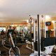 Fitness Center View at the Hampton Inn Hotel in Gulfport, near Biloxi, Mississippi. Stay in shape during your 4th of July Mini Vacation Getaway.