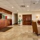 Quality Inn front desk and lobby