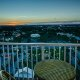 Blue Heron Beach Resort balcony sunset