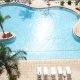 Blue Heron Beach Resort pool overview