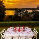 Chateau On the Lake outdoor dining