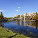 Beautiful Outdoors View At Clarion Hotel Maingate in Orlando/Kissimmee, Florida.