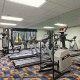 Fitness Center View At Clarion Hotel Maingate in Orlando/Kissimmee, Florida.