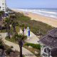 Bird Eye View at Coral Sands Inn In Daytona Beach / Ormond Beach, Florida.