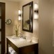 Crowne Plaza Hotel bathroom