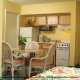 Fully Furnished Kitchenette View at El Caribe Resort in Daytona Beach, Florida. 