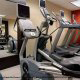 Fitness Center View at DoubleTree by Hilton New Orleans Hotel in New Orleans,  LA. Stay in shape while on your Thanksgiving Family Vacation Getaway.