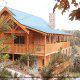 2 level porch decks on your cabin deck, you can enjoy breathtaking views of the magnificent Smoky Mountains.