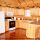 Luxurious private kitchens at Eagles Ridge in Pigeon Forge Tennessee.