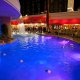 Golden Nugget Hotel and Casino pool night