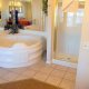 Grand Crowne Resort master bathroom