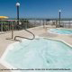 Outdoor Jacuzzi View at Grand Seas Resort in Daytona Beach, Florida.