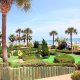Grand Seas Resort mini-golf overview