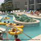 Lazy River tubing at the Grande Shores Hotel And Resort in Myrtle Beach.