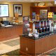 Continental Breakfast Area At Hampton Inn & Suites In Orlando / Kissimmee, Florida.