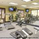 Fitness Center View of Hampton Vilano Inn in St. Augustine, Florida.
