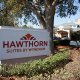 Hawthorn Suites Universal sign