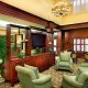 Holiday Inn Express and Suites Mt. Pleasant lobby TV