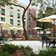 Holiday Inn Express and Suites Mt. Pleasant outdoor seating