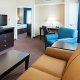 Holiday Inn Express and Suites Mt. Pleasant suite living room