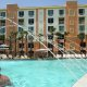 Holiday Inn Resort pool fountains