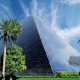 Exterior View Of Luxor Hotel And Casino In Las Vegas, NV.